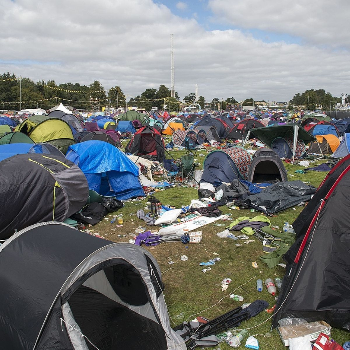 Electric Picnic promoter calls for an end to abandoned tents