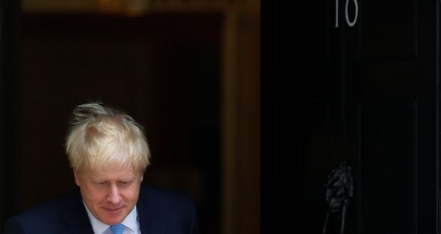 Britain's prime minister Boris Johnson. Photograph: Toby Melville
