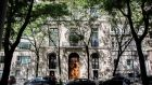 The Manhattan home of Jeffrey Epstein, who was found dead in his prison cell on the morning of Saturday, August 10th. Photograph: Kirsten Luce/The New York Times