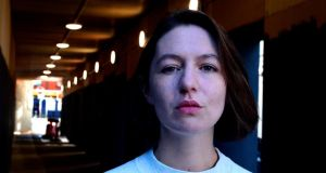 'Sensuous lips': Sally Rooney. Photograph: Cyril Byrne