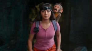 Isabela Moner plays Dora dead straight a in a turn that is as magical as it is astute
