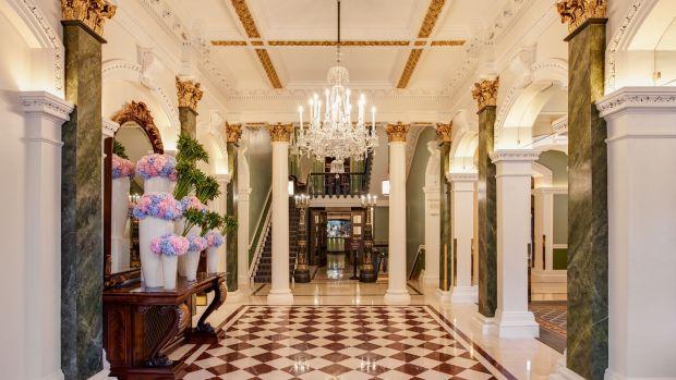 The Shelbourne Hotel in Dublin