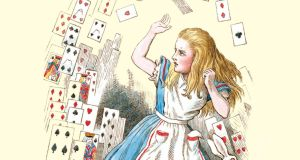 'Free money – it's sort of an insane concept.' Above, Alice in Wonderland
