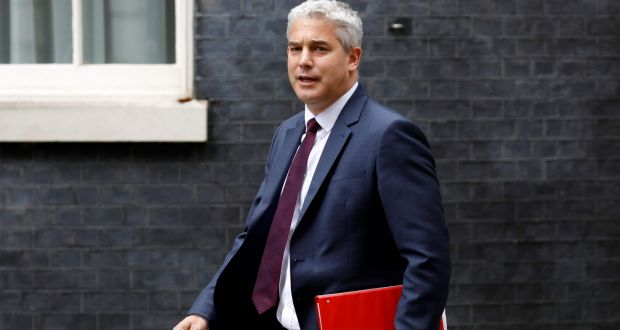 "UK Brexit secretary Stephen Barclay: ""We're leaving the EU on October 31st with or without a deal."" Photograph: Tolga Akmen"
