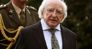 President of Ireland Michael D Higgins has offered condolences to the family of Nóra Quoirin. Photograph: Brian Lawless/PA Wire