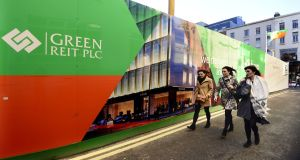 The London-headquartered company could look to offload up to 50 per cent of Green Reit's property portfolio once it secures ownership. Photograph: Cyril Byrne/The Irish Times