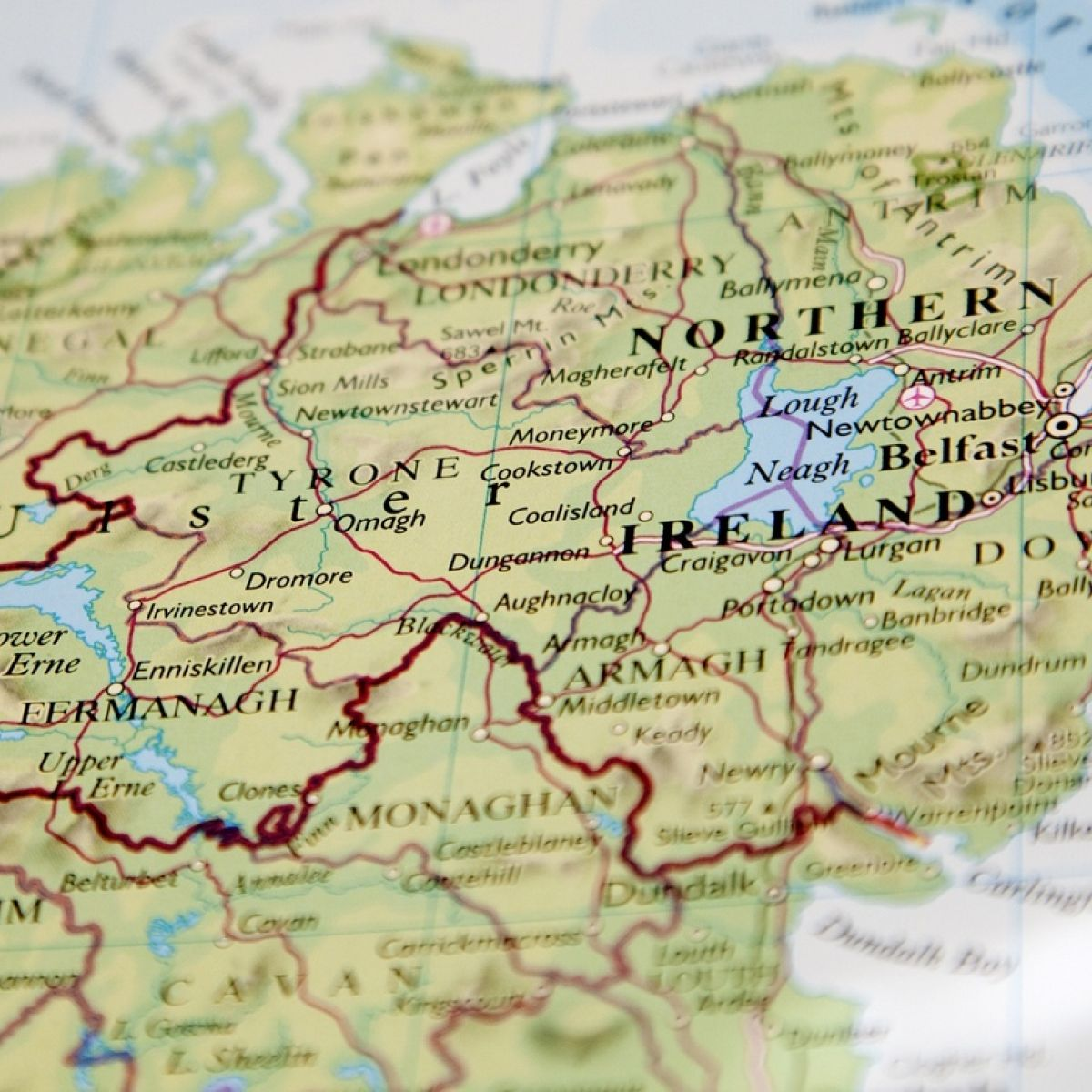 Map Of Ireland 900 Ad.Major Expansion Planned For Dublin Airport