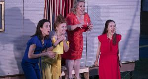 Rough Magic and Kilkenny Arts Festival Much Ado About Nothing Maeve Fitzgerald, Margaret McAuliffe, Clare Barrett, Ventia Bowe_Pic John D Kelly