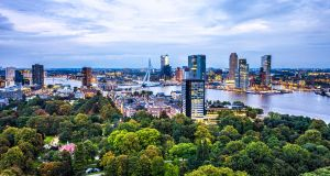 Rotterdam in the Netherlands. Photograph: iStock