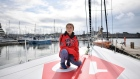 Climate campaigner Greta Thunberg prepares to sail to the US