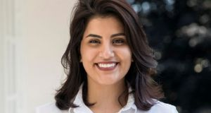 Saudi women's rights activist Loujain al-Hathloul accused the authorities of holding them in solitary confinement, sexual assault and administering beatings and electric shocks. Photograph: Reuters