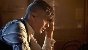 Playing a blinder: Cillian Murphy as Tommy Shelby. Photograph: BBC