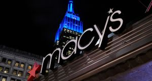 Like many bricks-and-mortar retailers, Macy's is struggling with growth in online shopping. Photograph: Reuters