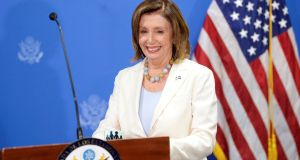US speaker of the house Nancy Pelosi  said that, whatever form Brexit takes, it 'cannot be allowed to imperil the Good Friday Agreement'. File photograph: Reuters