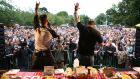 Hot wings and chilli eating competitions are a popular feature at  the Big Grill Festival.