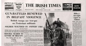 How The IrishTimes reported the day's events the following morning.