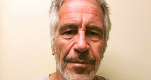 "Jeffrey Epstein: Told the woman ""that she did nothing wrong"" after raping her, according to the lawsuit. Photograph:  New York State Sex Offender Registry via AP"