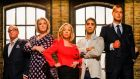 Dragons' Den: Touker Suleyman, Sara Davies, Deborah Meaden, Tej Lalvani and Peter Jones