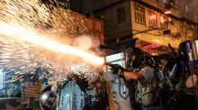 US lawmakers urge support for Hong Kong protests