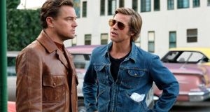 Sock it to me: Leonardo DiCaprio and Brad Pitt in Once Upon a Time in...Hollywood