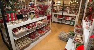 A look inside the new Christmas shop in Brown Thomas in Dublin. Photograph: Gareth Chaney/Collins