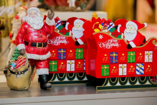 The Christmas shop will expand in the months ahead as Irish and international shoppers prepare for the festive season. Photo: Gareth Chaney/Collins