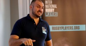 International Rugby Players association chief executive Omar Hassanein says players were never opposed to the concept of a world league. Photograph: Dan Sheridan/Inpho