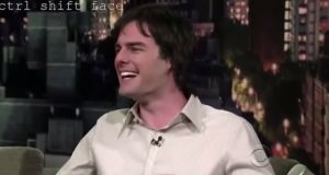 In this case, it helps that Bill Hader and Tom Cruise share certain facial traits