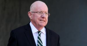 "Minister for Justice Charlie Flanagan: ""As a father of two daughters myself, like I am sure every parent in the country, our hearts go out to the family.""  Photograph:   Brian Lawless/PA Wire"