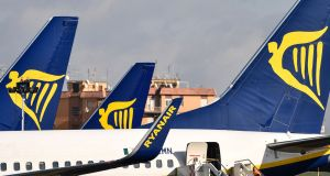 Ryanair argues that Ialpa's demands would see some pilots doubling their pay to €346,000 a year. Photograph: Alberto Pizzoli/AFP/Getty