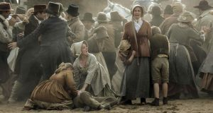 A scene from Mike Leigh's 2018 film, Peterloo. Photograph: Entertainment One