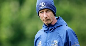 Leinster head coach Leo Cullen has named his squad to play Coventry. Photograph: Laszlo Geczo/Inpho