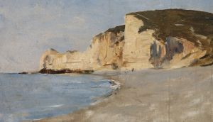 Nathaniel Hone the Younger, A View of Cliffs, Etretat, Oil on canvasPhotograph: National Gallery of Ireland