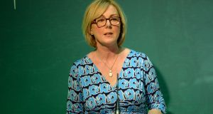 Minister for  Social Protection Regina Doherty: accused of being 'bull-headed' about card.  Photograph: Dara Mac Dónaill