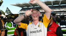Brian Cody celebrates Kilkenny's 2008 All-Ireland final win over Waterford. Photograph: Cathal Noonan/Inpho