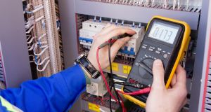 National Electrical Contractors Ireland members must  increase electricians' pay to between €23.49 and €24.34 an hour, depending on service, from about €18 to €21 an hour. Photograph: iStock