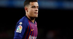 Philippe Coutinho is on the verge of joining Bayern Munich on a season-long loan. Photograph: Albert Gea/Reuters