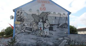 Murals in Republican and loyalist areas can give a one-sided view of the conflict, anti-terrorism experts say. Photograph: Ronan McGreevy