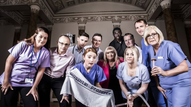 Staff of The Rotunda hospital in the first series of the RTÉ2 show, which will return for a second run. Photograph: RTÉ.
