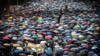 Over 100,000 Hong Kongers brave rain to join anti-government rally