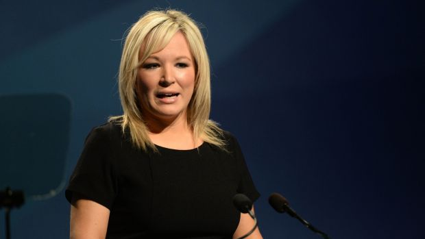 Michelle O'Neill said Ireland as a whole had been voicing these concerns for months. Photograph: Dara Mac Dónaill / The Irish Times