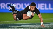 Richie Mo'unga: he could miss the All Blacks' final World Cup warm-up match against Tonga on September 7th. Photograph: Photosport/Marty Melville/Inpho