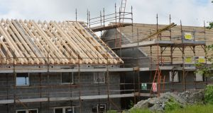 The first estate of affordable homes to be built by Dún Laoghaire Rathdown County Council in more than a decade will get under way at Ballyogan. File photograph: Alan Betson