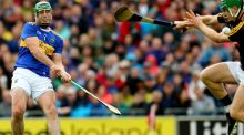 Tipperary's John O'Dwyer scores his side's third goal past Kilkenny goalkeeper Eoin Murphy in the  All-Ireland Senior Hurling final. Photograph: James Crombie/Inpho