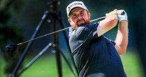 Shane Lowry of Ireland during the BMW Championship at Medinah Country Club in Medinah, Illinois. Photograph: EPA