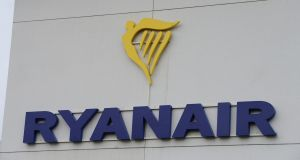 Ryanair is seeking a court order to prevent Irish-based pilots from striking. Photograph: Alan Betson/The Irish Times