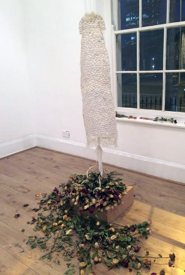 Stay with Me, which opens in the Aula Maxima, is a group art exhibition which brings together the work of 20 artists and survivors who felt compelled to create artwork in response initially, to the tragic story of the Tuam Babies. Photographs supplied by Olivia Kelleher and UCC