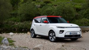 Kia e-Soul electric car: its big selling point is the new 64kW battery with an official range between charges of 452km.