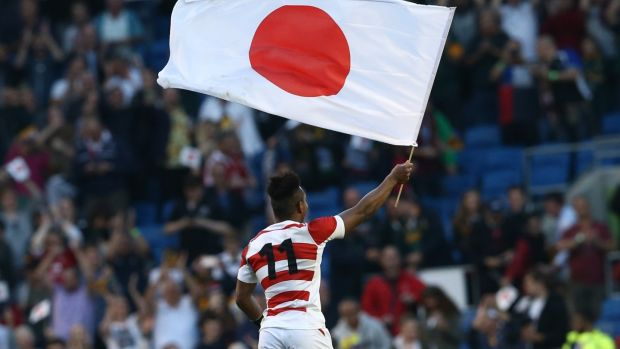 A €29.99 per month Eir subscription is required if you want to watch all 48 games of the Rugby World Cup in Japan. Photograph: Justin Tallis/AFP/Getty Images