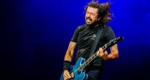 Foo Fighters: Dave Grohl's band sell out pretty much wherever they play. Photograph: Thomas Niedermueller/Redferns/Getty